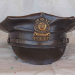bronze urn sculpture for policeman and police